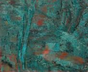 d'après Cézanne 73x60 2009