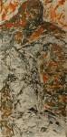 D3 2014 huile sur plexi 50x100