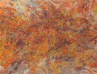 huile sur toile diptyque 2x 100x65 2015