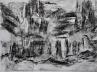 pestera piatra altarului 3 charcoal 30x40 2016