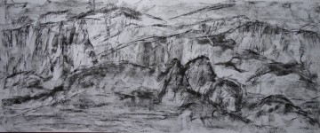 pestera piatra altarului 5(charcoal) 50x120 2016