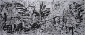 pestera piatra altarului 6 (charcoal) 50x120 2016