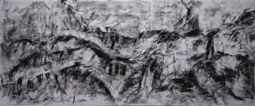 pestera piatra altarului 7 (charcoal) 50x120 2016